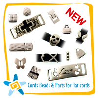 Cords Beads & Parts for flat cords