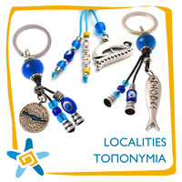 Key Rings Localties