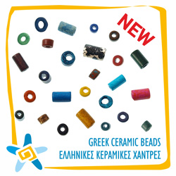 Greek Ceramic Beads