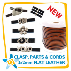3x2mm Clasps Parts & Cords n