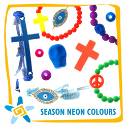 Seasons neon colours