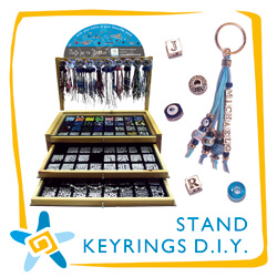 Stand Key Rings D.I.Y.