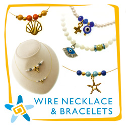 Wire Necklace & Bracelet