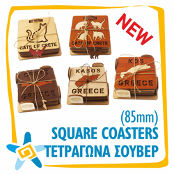 Square Coasters 85mm